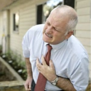 Pensioner Experiencing Left Side Chest Pain