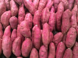 Sweet potatoes are good for acid reflux